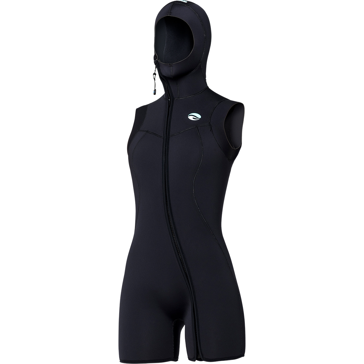 7mm  Step-in Hooded Vest - Women